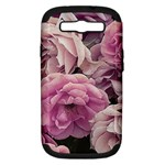 Great Garden Roses Pink Samsung Galaxy S III Hardshell Case (PC+Silicone)