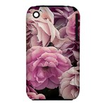 Great Garden Roses Pink Apple iPhone 3G/3GS Hardshell Case (PC+Silicone)