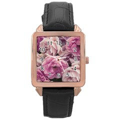 Great Garden Roses Pink Rose Gold Watches