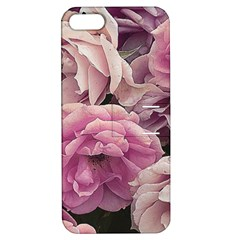 Great Garden Roses Pink Apple iPhone 5 Hardshell Case with Stand by MoreColorsinLife