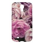 Great Garden Roses Pink Samsung Galaxy S4 I9500/I9505 Hardshell Case