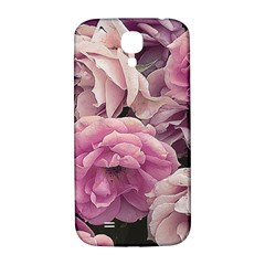 Great Garden Roses Pink Samsung Galaxy S4 I9500/i9505  Hardshell Back Case