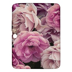 Great Garden Roses Pink Samsung Galaxy Tab 3 (10 1 ) P5200 Hardshell Case  by MoreColorsinLife