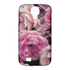 Great Garden Roses Pink Samsung Galaxy S4 Classic Hardshell Case (pc+silicone)