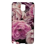 Great Garden Roses Pink Samsung Galaxy Note 3 N9005 Hardshell Case