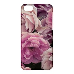 Great Garden Roses Pink Apple iPhone 5C Hardshell Case by MoreColorsinLife