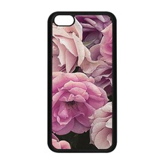 Great Garden Roses Pink Apple Iphone 5c Seamless Case (black) by MoreColorsinLife