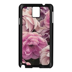 Great Garden Roses Pink Samsung Galaxy Note 3 N9005 Case (black)