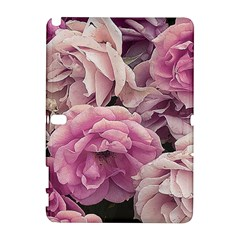 Great Garden Roses Pink Samsung Galaxy Note 10 1 (p600) Hardshell Case