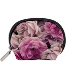 Great Garden Roses Pink Accessory Pouches (Small)