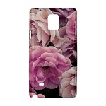 Great Garden Roses Pink Samsung Galaxy Note 4 Hardshell Case