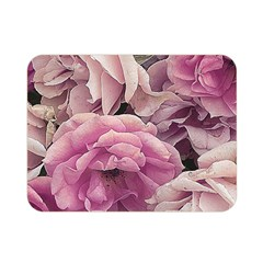 Great Garden Roses Pink Double Sided Flano Blanket (mini)