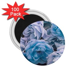 Great Garden Roses Blue 2 25  Magnets (100 Pack)