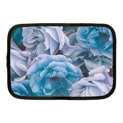 Great Garden Roses Blue Netbook Case (medium)
