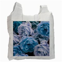 Great Garden Roses Blue Recycle Bag (one Side)