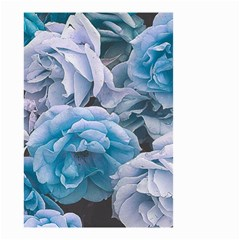 Great Garden Roses Blue Small Garden Flag (two Sides)