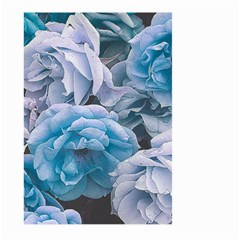 Great Garden Roses Blue Large Garden Flag (two Sides)