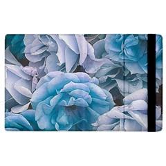Great Garden Roses Blue Apple Ipad 2 Flip Case by MoreColorsinLife