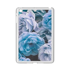 Great Garden Roses Blue iPad Mini 2 Enamel Coated Cases by MoreColorsinLife
