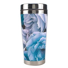 Great Garden Roses Blue Stainless Steel Travel Tumblers
