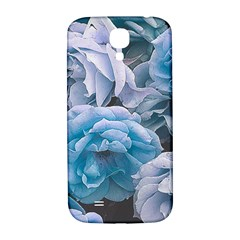 Great Garden Roses Blue Samsung Galaxy S4 I9500/i9505  Hardshell Back Case