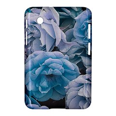 Great Garden Roses Blue Samsung Galaxy Tab 2 (7 ) P3100 Hardshell Case
