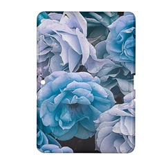 Great Garden Roses Blue Samsung Galaxy Tab 2 (10 1 ) P5100 Hardshell Case
