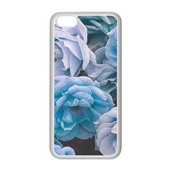 Great Garden Roses Blue Apple Iphone 5c Seamless Case (white)