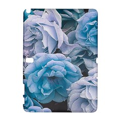 Great Garden Roses Blue Samsung Galaxy Note 10 1 (p600) Hardshell Case