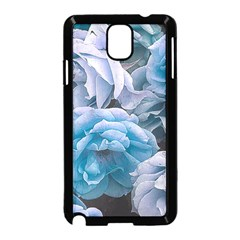 Great Garden Roses Blue Samsung Galaxy Note 3 Neo Hardshell Case (black)