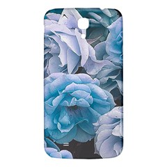 Great Garden Roses Blue Samsung Galaxy Mega I9200 Hardshell Back Case