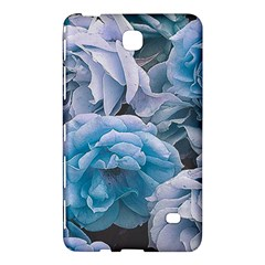 Great Garden Roses Blue Samsung Galaxy Tab 4 (8 ) Hardshell Case  by MoreColorsinLife