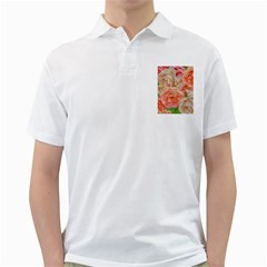 Great Garden Roses, Orange Golf Shirts by MoreColorsinLife