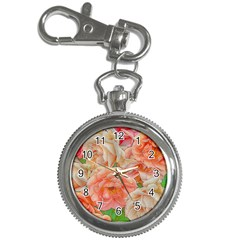 Great Garden Roses, Orange Key Chain Watches