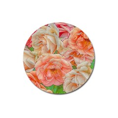 Great Garden Roses, Orange Magnet 3  (round)