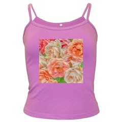 Great Garden Roses, Orange Dark Spaghetti Tanks