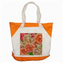 Great Garden Roses, Orange Accent Tote Bag