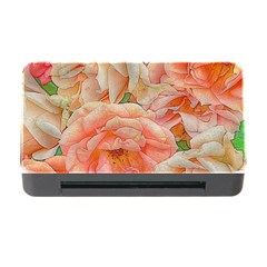 Great Garden Roses, Orange Memory Card Reader With Cf