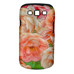 Great Garden Roses, Orange Samsung Galaxy S Iii Classic Hardshell Case (pc+silicone)