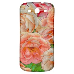 Great Garden Roses, Orange Samsung Galaxy S3 S Iii Classic Hardshell Back Case