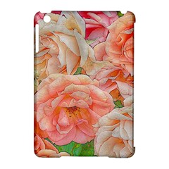 Great Garden Roses, Orange Apple Ipad Mini Hardshell Case (compatible With Smart Cover)