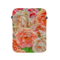 Great Garden Roses, Orange Apple Ipad 2/3/4 Protective Soft Cases