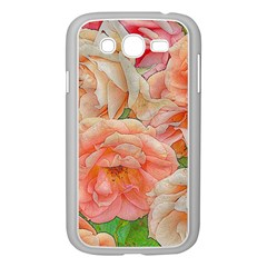 Great Garden Roses, Orange Samsung Galaxy Grand Duos I9082 Case (white)