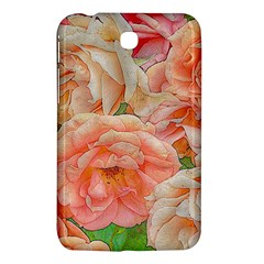 Great Garden Roses, Orange Samsung Galaxy Tab 3 (7 ) P3200 Hardshell Case