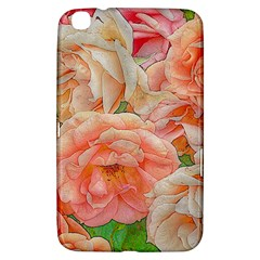 Great Garden Roses, Orange Samsung Galaxy Tab 3 (8 ) T3100 Hardshell Case