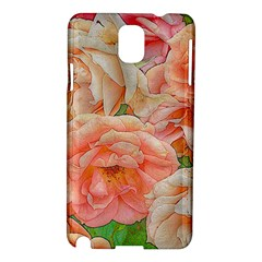 Great Garden Roses, Orange Samsung Galaxy Note 3 N9005 Hardshell Case by MoreColorsinLife