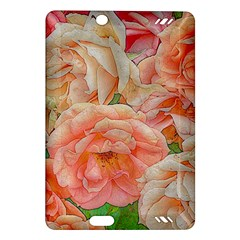 Great Garden Roses, Orange Kindle Fire Hd (2013) Hardshell Case