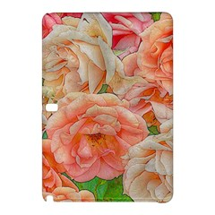 Great Garden Roses, Orange Samsung Galaxy Tab Pro 10 1 Hardshell Case