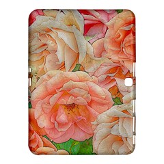 Great Garden Roses, Orange Samsung Galaxy Tab 4 (10 1 ) Hardshell Case