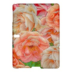 Great Garden Roses, Orange Samsung Galaxy Tab S (10 5 ) Hardshell Case